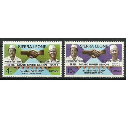 Sierra Leone 1975 Mi 564-565 Czyste **