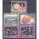 Wyspa Man 1992 Mi 507-511 Czyste **