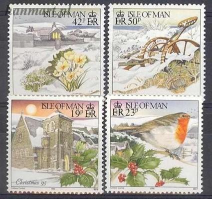 Znaczek Wyspa Man 1995 Mi 656-659 Czyste **
