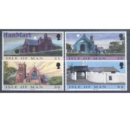 Znaczek Wyspa Man 1999 Mi 831-834 Czyste **