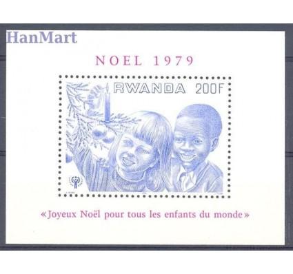 Znaczek Rwanda 1979 Mi bl 87 Czyste **