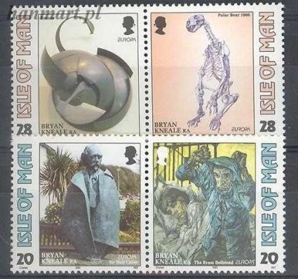 Znaczek Wyspa Man 1993 Mi 546-549 Czyste **