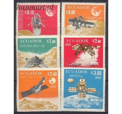 Znaczek Ekwador 1966 Mi 1301-1306 Czyste **