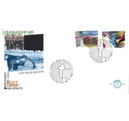 Znaczek Holandia 1987 Mi 1311-1312 FDC