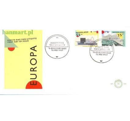 Znaczek Holandia 1987 Mi 1318-1319 FDC