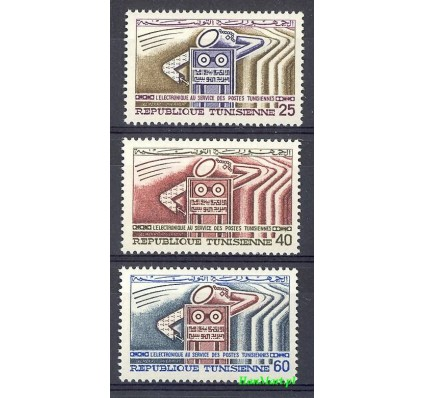 Tunezja 1968 Mi 694-696 Czyste **