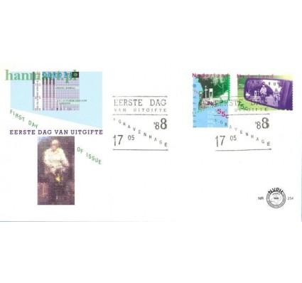 Znaczek Holandia 1988 Mi 1343-1344 FDC