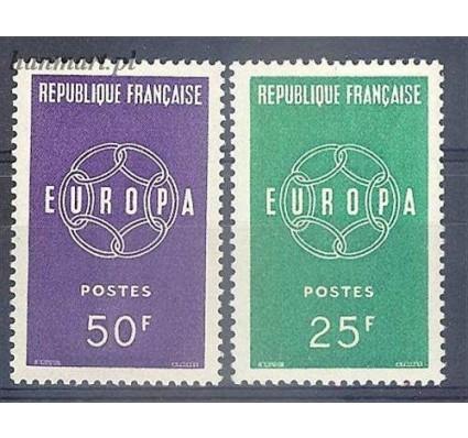 Znaczek Francja 1959 Mi 1262-1263 Czyste **