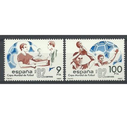 Znaczek Hiszpania 1982 Mi 2550-2551 Czyste **