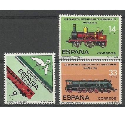 Znaczek Hiszpania 1982 Mi 2556-2558 Czyste **