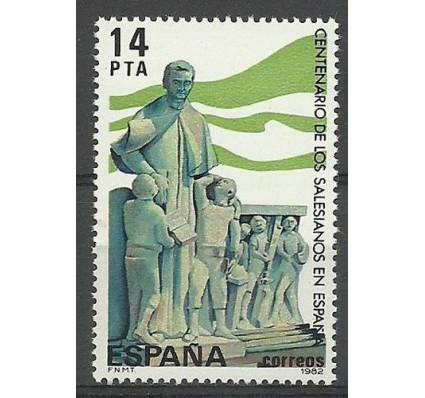Znaczek Hiszpania 1982 Mi 2570 Czyste **