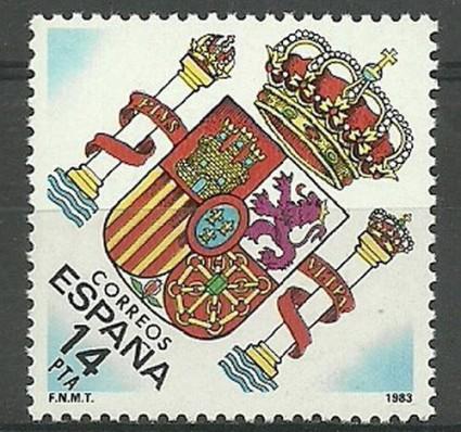 Znaczek Hiszpania 1983 Mi 2571 Czyste **
