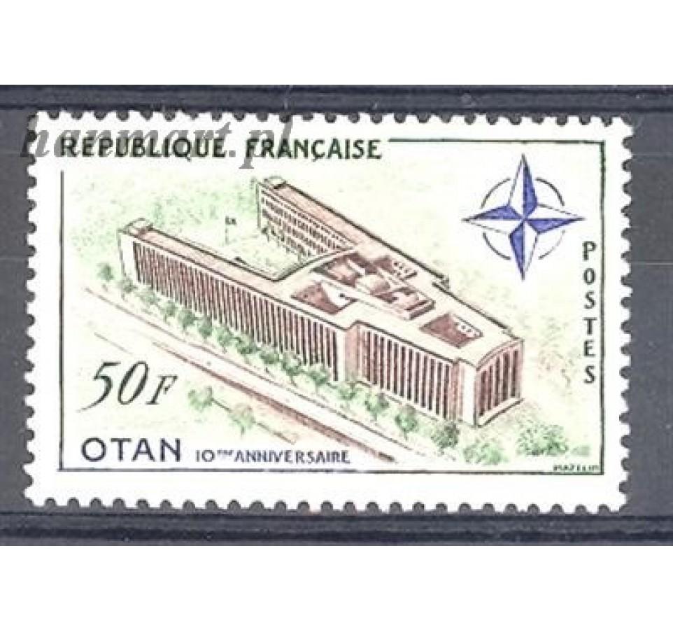 Francja 1959 Mi 1272 Czyste **