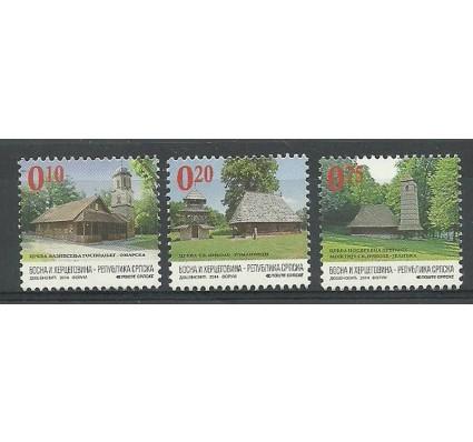 Znaczek Republika Serbska 2014 Mi 633-635 Czyste **