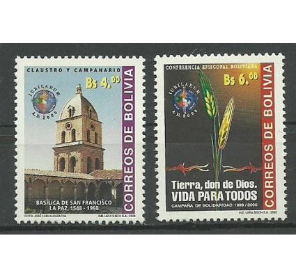 Znaczek Boliwia 2000 Mi 1460-1461 Czyste **