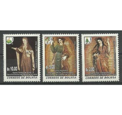 Znaczek Boliwia 2001 Mi 1501-1503 Czyste **
