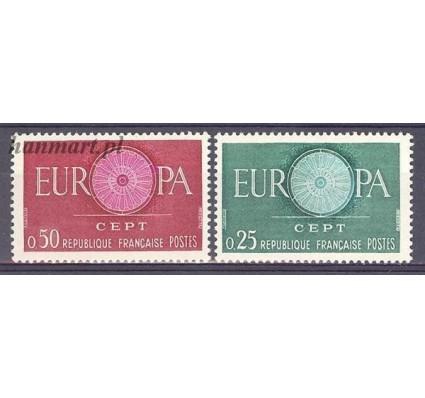 Znaczek Francja 1960 Mi 1318-1319 Czyste **