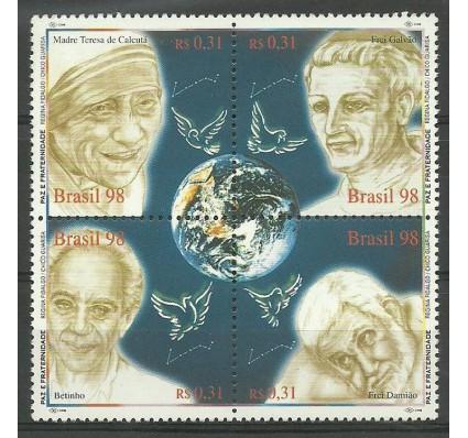 Znaczek Brazylia 1998 Mi 2911-2914 Czyste **