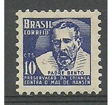 Znaczek Brazylia 1954 Mi zwa 5 Czyste **