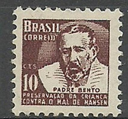 Znaczek Brazylia 1962 Mi zwa 10 Czyste **