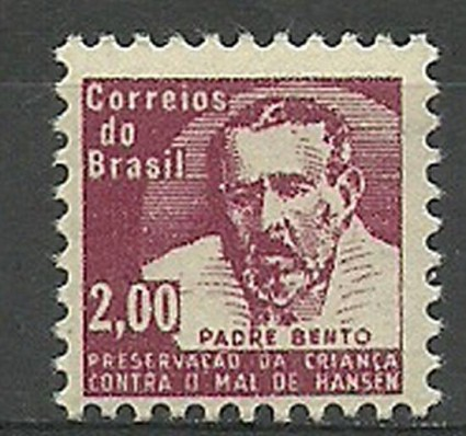 Znaczek Brazylia 1964 Mi zwa 12 Czyste **