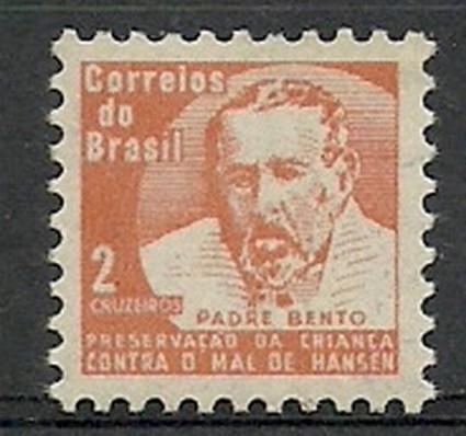 Znaczek Brazylia 1966 Mi zwa 14 Czyste **