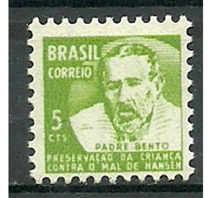 Znaczek Brazylia 1968 Mi zwa 15 Czyste **