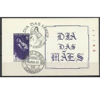 Znaczek Brazylia 1967 Mi bl 20 Stemplowane