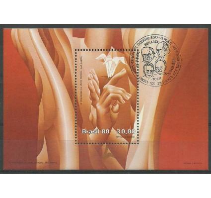 Znaczek Brazylia 1980 Mi bl 44 Stemplowane