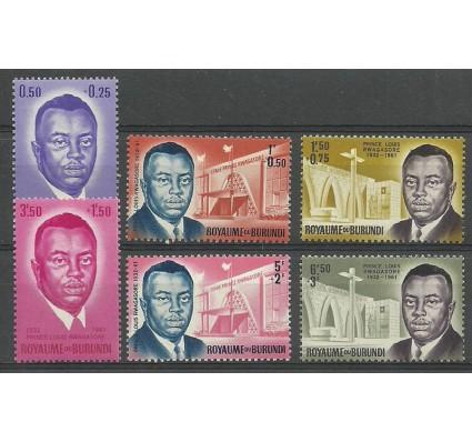 Znaczek Burundi 1963 Mi 42-47 Czyste **