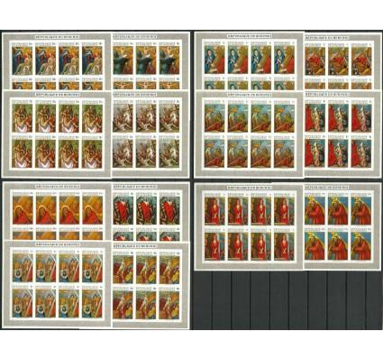 Znaczek Burundi 1970 Mi ark 562-575B Czyste **