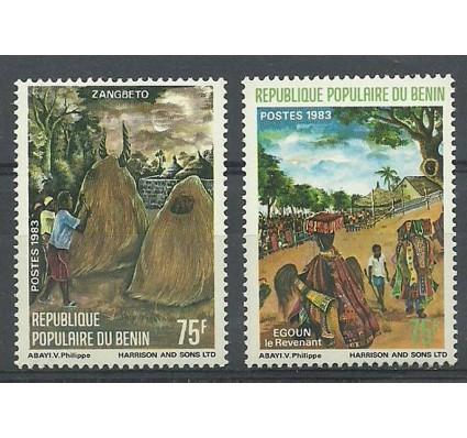 Znaczek Benin 1983 Mi 322-323 Czyste **