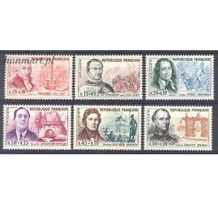 Znaczek Francja 1961 Mi 1349-1354 Czyste **
