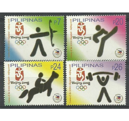 Znaczek Filipiny 2008 Mi 4095-4098 Czyste **