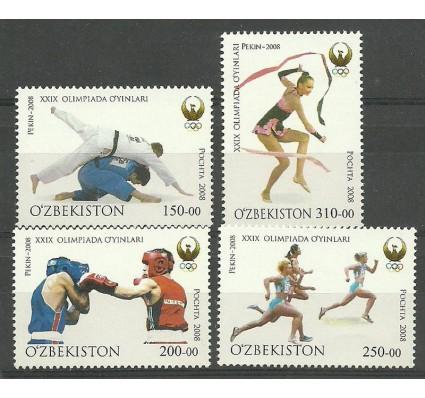 Znaczek Uzbekistan 2008 Mi 784-787 Czyste **