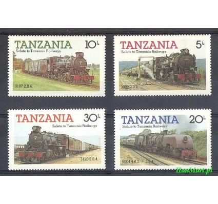 Tanzania 1985 Mi 268-271 Czyste **