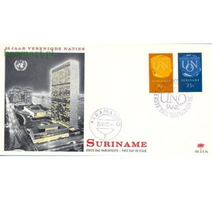 Znaczek Surinam 1970 FDC