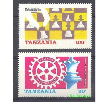 Tanzania 1986 Mi 313-314 Czyste **