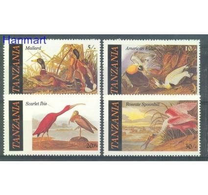 Tanzania 1986 Mi 315-318 Czyste **