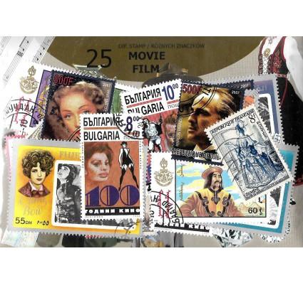 Pakiet filatelistyczny FILM 25 znaczkow
