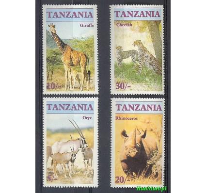 Tanzania 1986 Mi 328-331 Czyste **