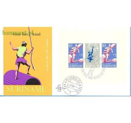 Znaczek Surinam 1969 Mi bl 9 FDC