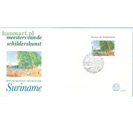 Znaczek Surinam 1981 Mi bl 31 FDC