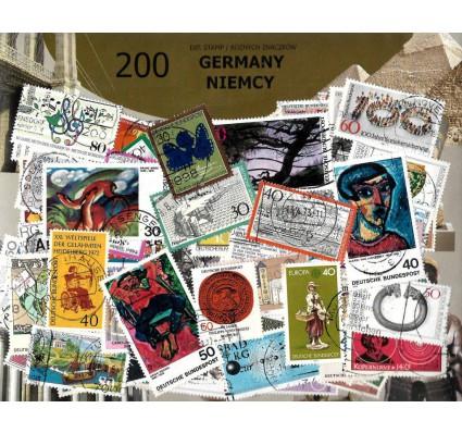 Pakiet filatelistyczny NIEMCY 200 znaczkow
