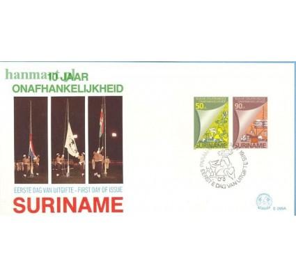 Znaczek Surinam 1985 Mi bl 42 FDC