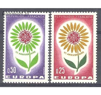 Znaczek Francja 1964 Mi 1490-1491 Czyste **