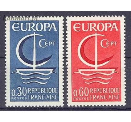 Znaczek Francja 1966 Mi 1556-1557 Czyste **