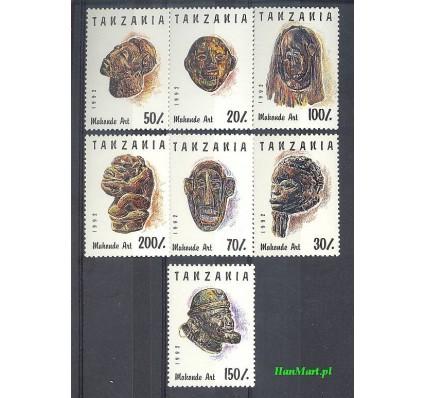 Znaczek Tanzania 1992 Mi 1437-1443 Czyste **