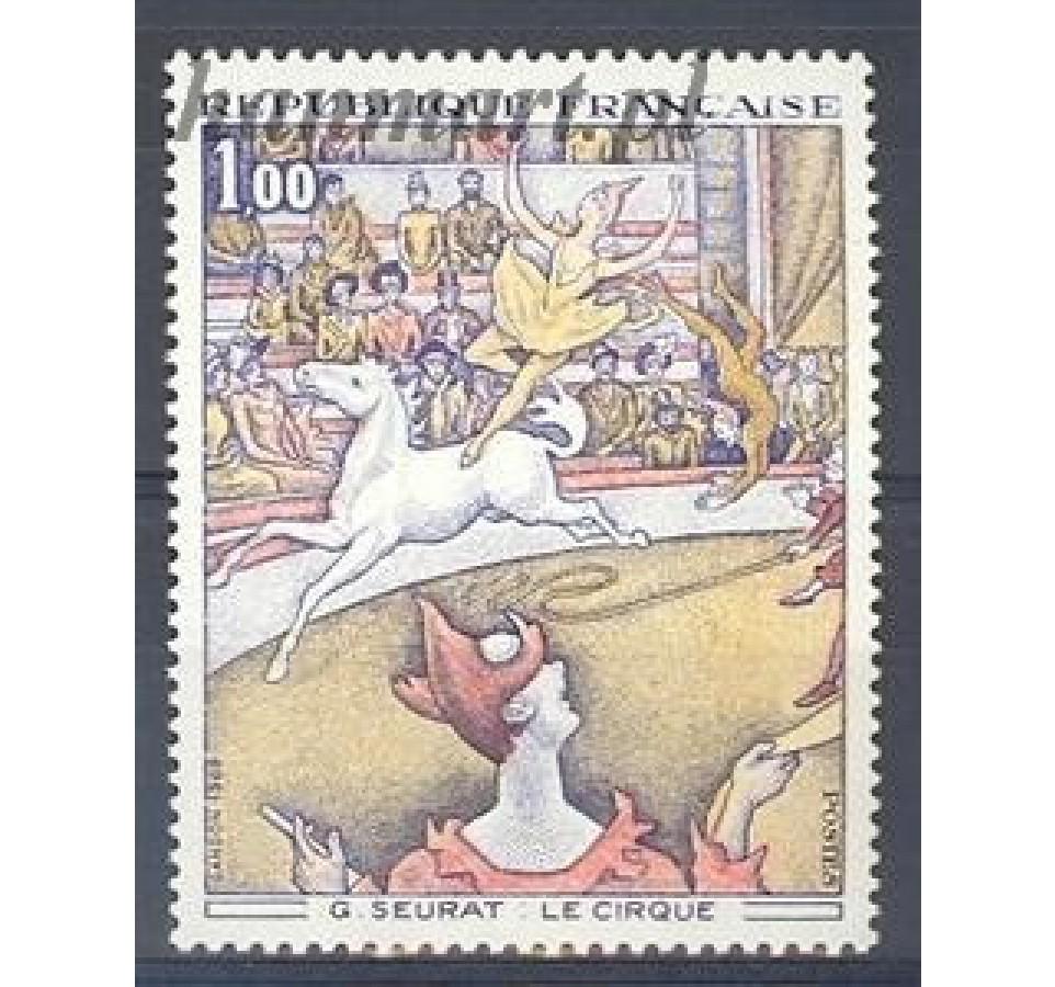 Francja 1969 Mi 1687 Czyste **