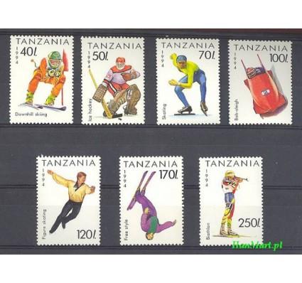 Tanzania 1994 Mi 1705-1711 Czyste **